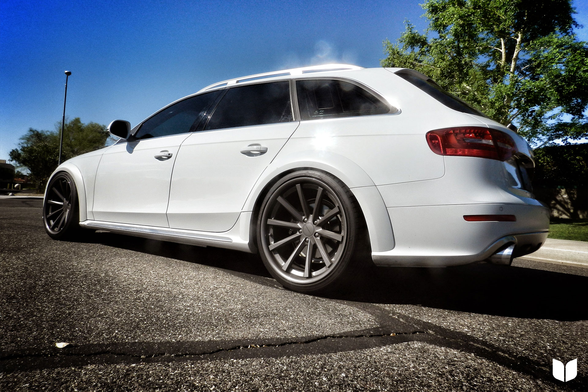 2014 Audi B8 Allroad H&R Coilovers Vossen Wheels AWE Exhaust Parts Score