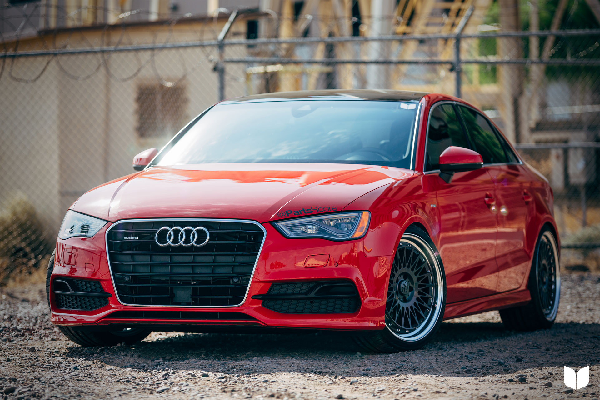 2015 Audi 8V A3 quattro Sport fifteen52 Michelin Parts Score Scottsdale
