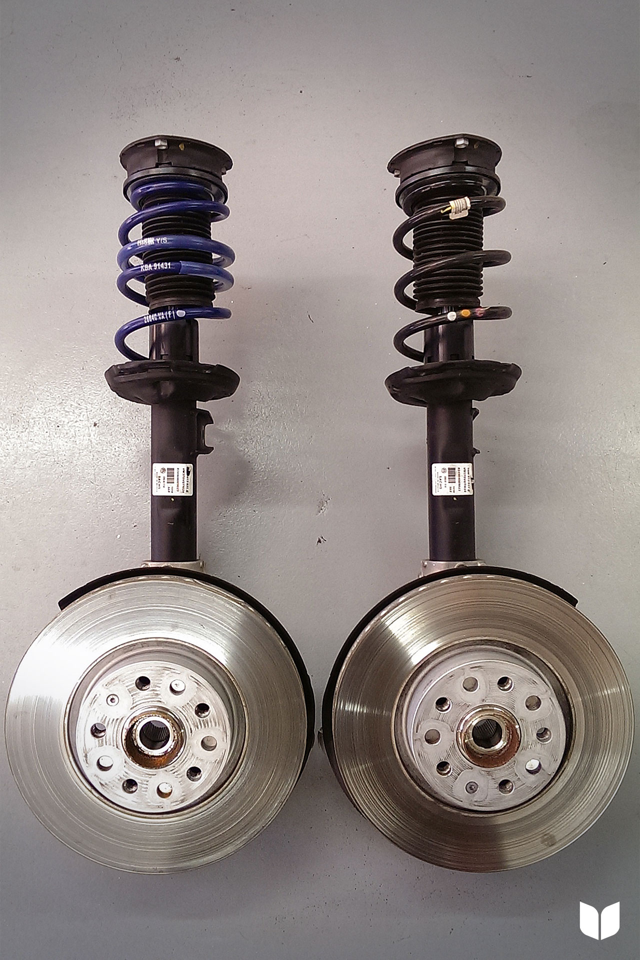 The Mk7 GTI Front Suspension Comparison