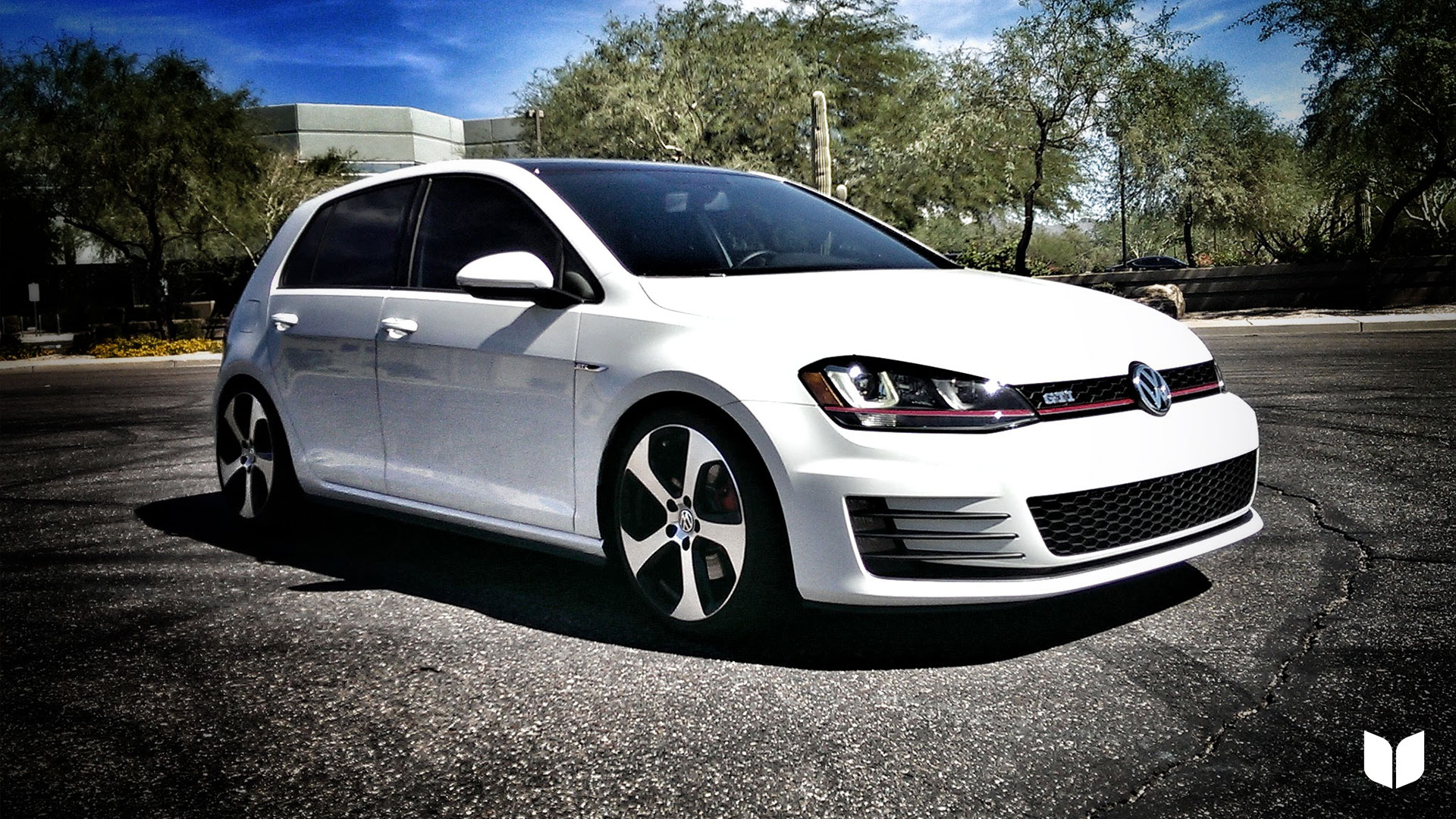 2015 Volkswagen MK7 GTI H&R Springs ECS Spacers Parts Score Scottsdale