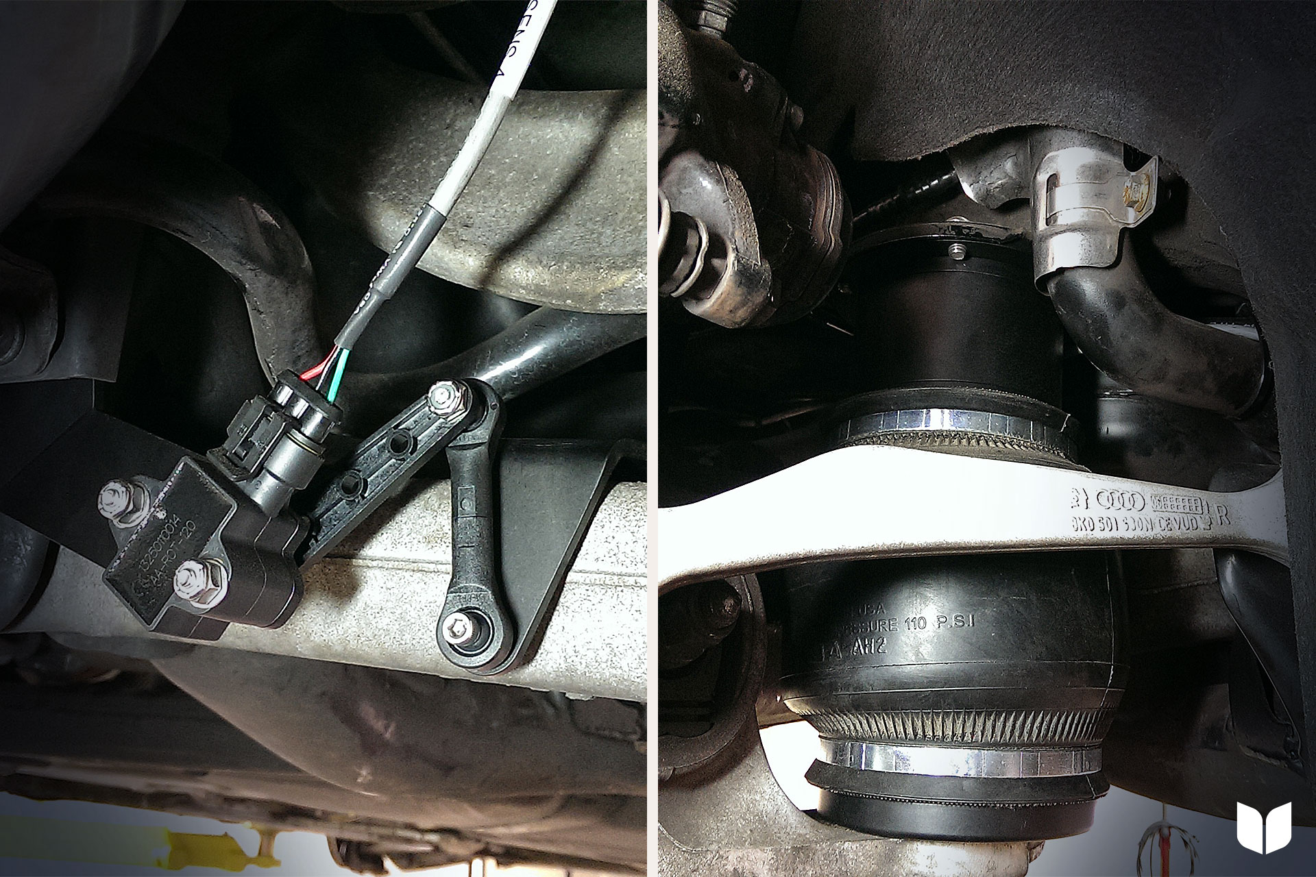 e-Level Sensor & Rear Air Bag Install
