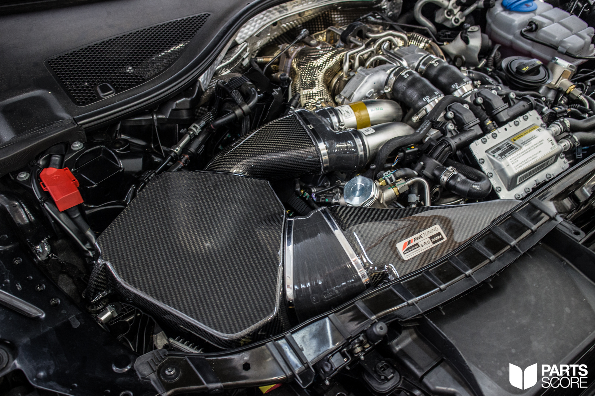 Audi Rs7 Giac Awe And H Amp R Performance Upgrades Parts Score