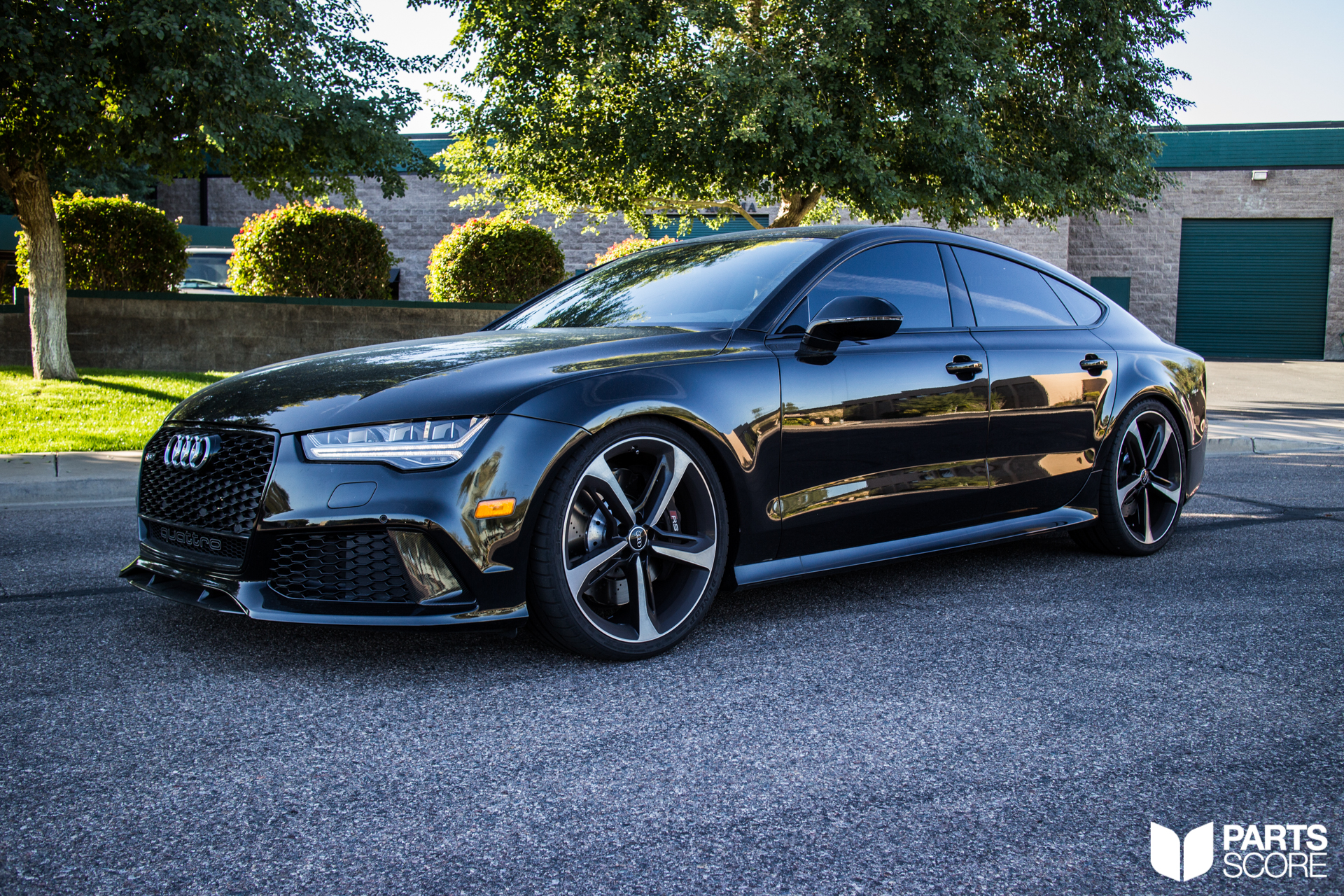 audi rs7 giac awe and h r performance upgrades parts score. Black Bedroom Furniture Sets. Home Design Ideas