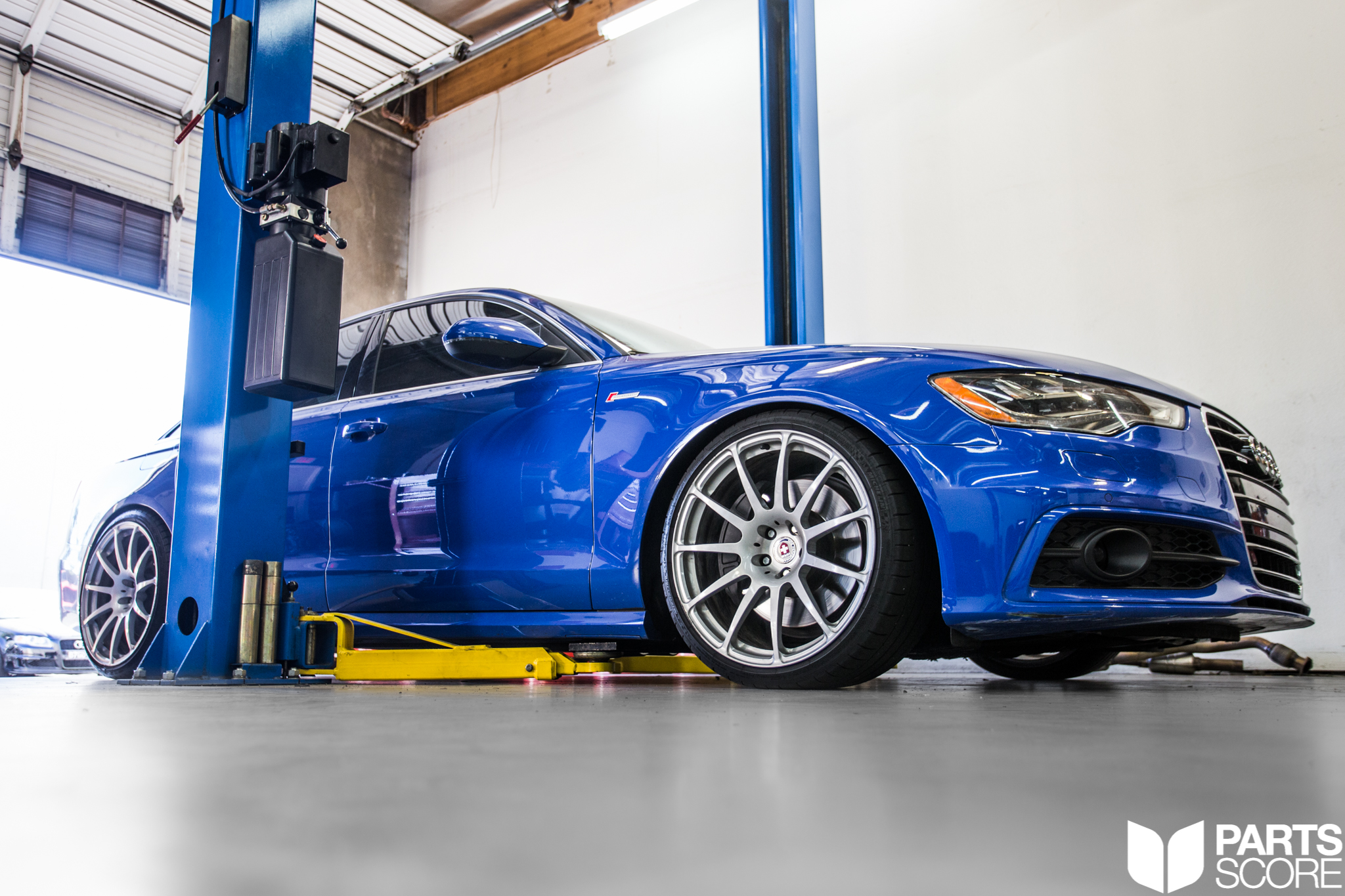 partsscore, parts score, audi a6, supercharged, v6, supercharged v6, nogaro blue, audi exclusive, awe tuning, awetuning official, quattro, nogaro, blue, hre wheels, kw coilovers, downpipes, touring exhaust, touring edition, rare, super rare, ultra rare, nogaro blue audi, c7a6, audi c7 a6, 3.0t, scottsdale, arizona, az