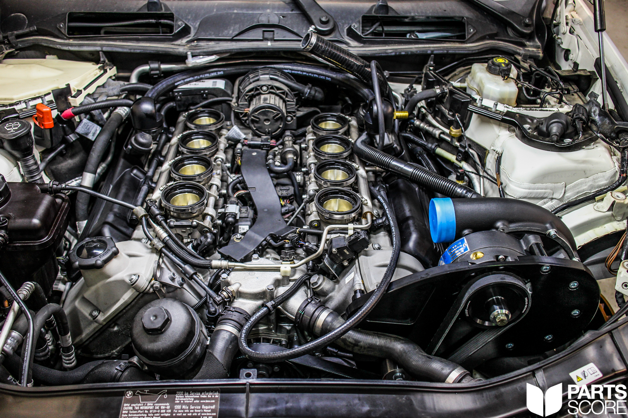 Another BMW Supercharger: E92 M3 DCT Featuring an ESS Tuning