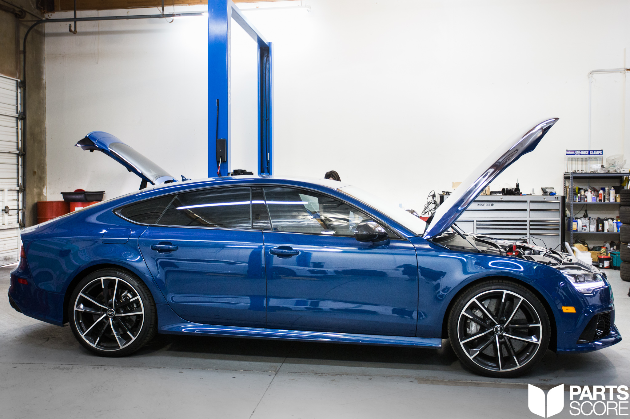 הגדול 2017 Audi RS7 Performance: 710HP GIAC Tune - Parts Score HU-63