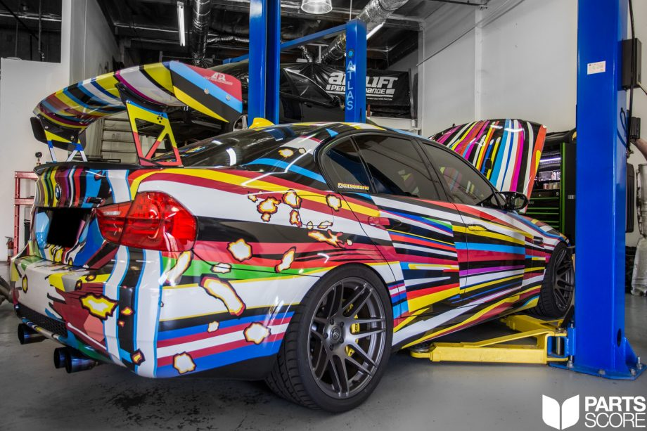 Supercharged E90 M3 Art Car Csf Racing Cooling System