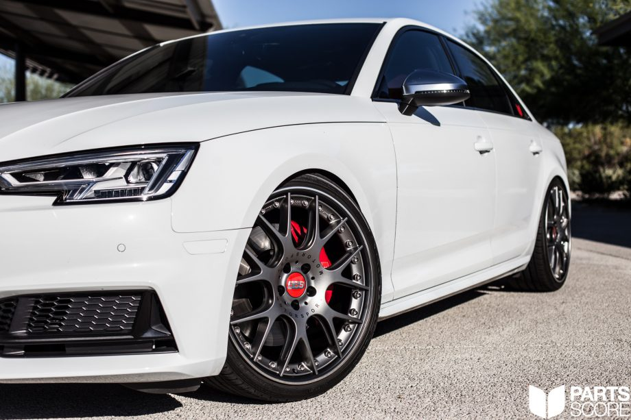 Audi B9 S4 20 Bbs Chr Ii Wheels Installed By Parts Score Parts Score